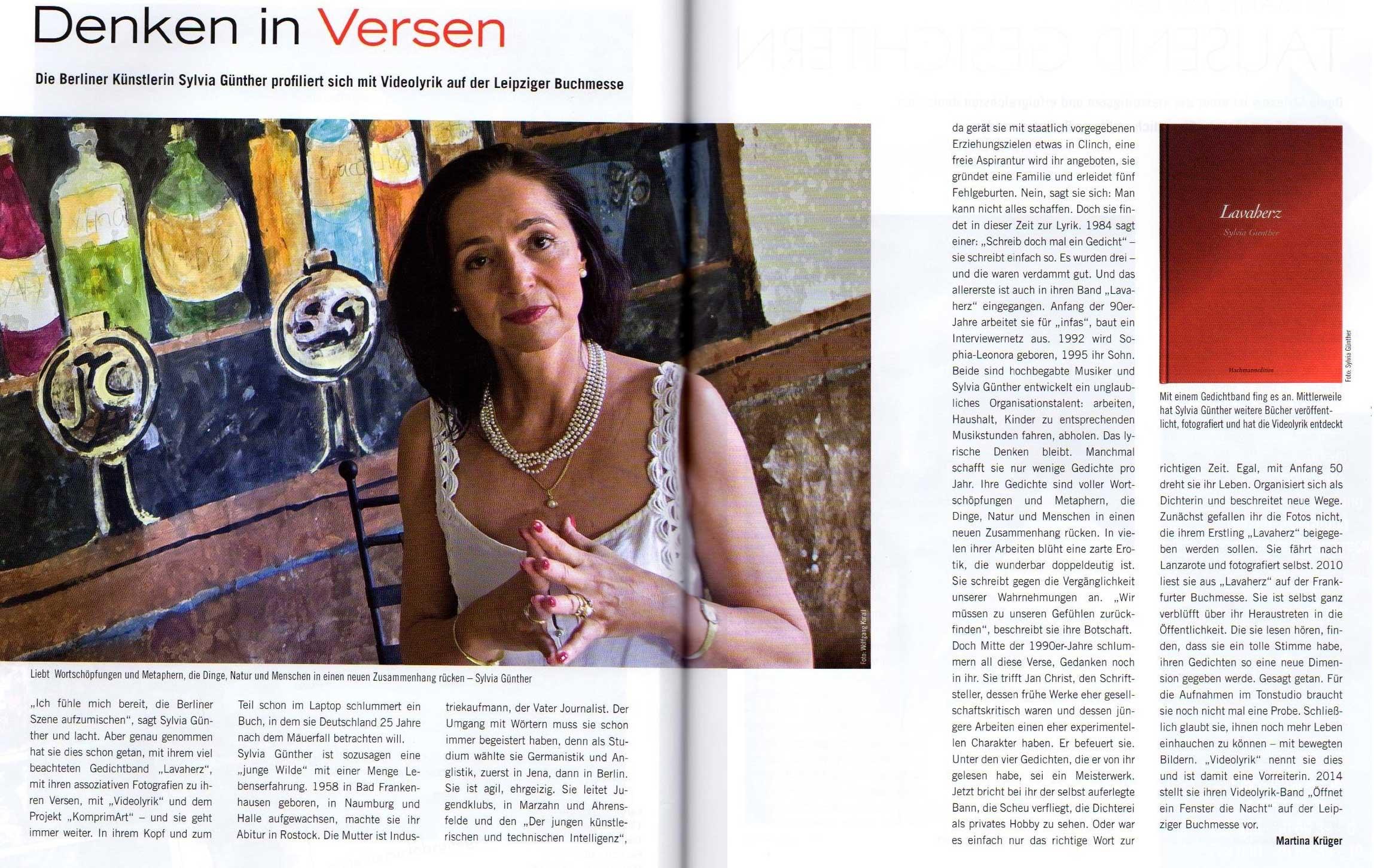 Sommer 2014 vis-a-vis | Sylvia Günther
