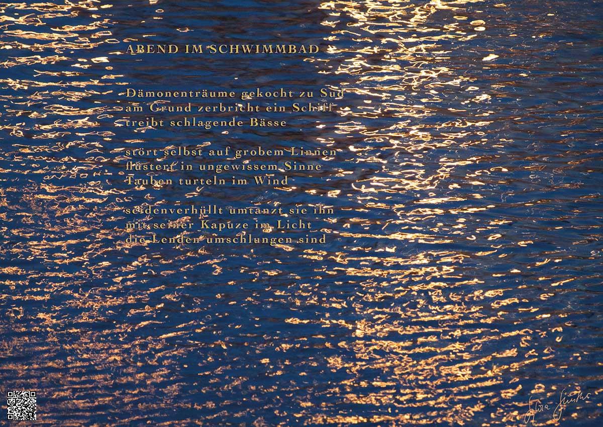 Soundpics: 01 Abend im Schwimmbad